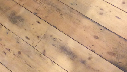 Sample of Victorian Pine Floorboards