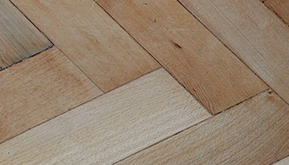 Sample of English Beech Parquet