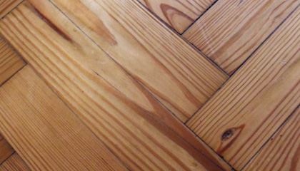 Sample of Pitch Pine Parquet
